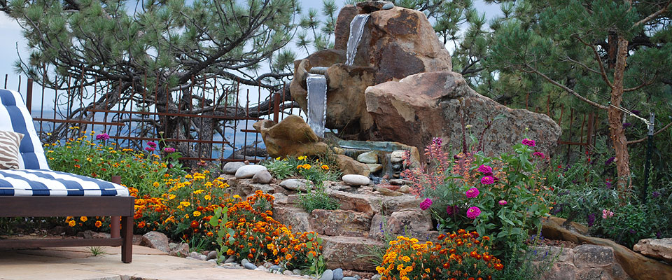 Luxury Flower Gardens High End Mountain Garden Design